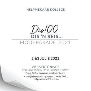 Helpmekaar Kollege | Modeparade 2021