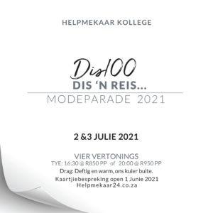 Helpmekaar Kollege   Modeparade 2021