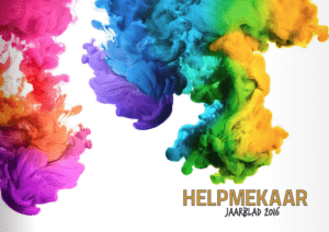 Helpmekaar Kollege | 2016 Jaarblad